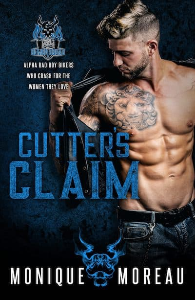 Book cover for Cutter's Claim by Monique Moreau