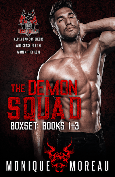Book cover for The Demon Squad Boxed Set by Monique Moreau