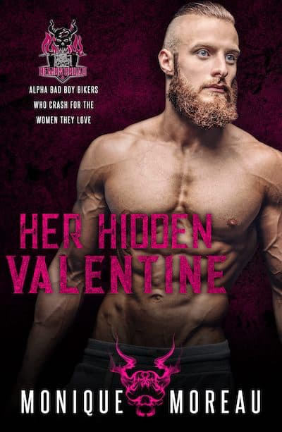 Book cover for Her Hidden Valentine by Monique Moreau