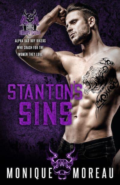 Book cover for Stanton's Sins by Monique Moreau