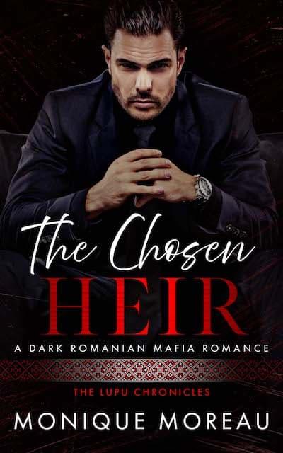Book cover for The Chosen Heir by Monique Moreau